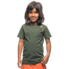 Houdini Kids Liquid Skin Tee Needle Green